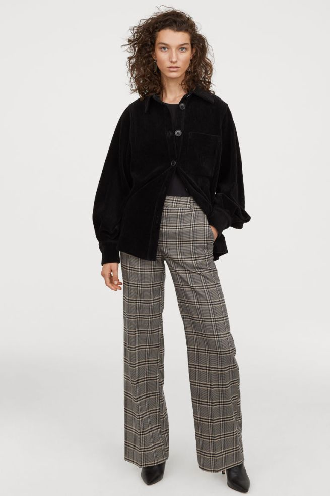 pantalon ample carreaux H&M 34€99