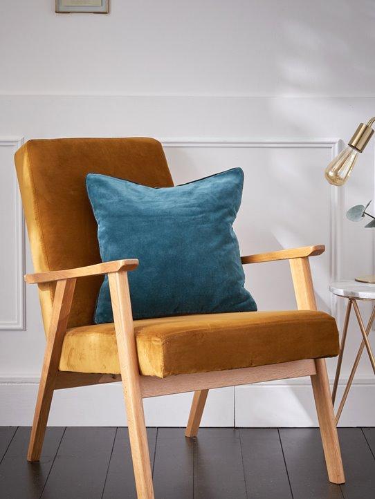 fauteuil Cyrillushousse-de-coussin-en-velours