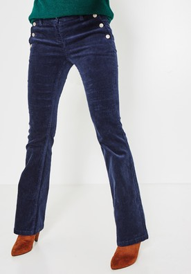 pantalon marine 49,95 promod