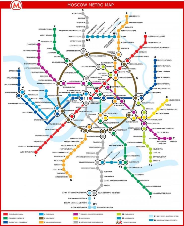 plan-de-métro moscou
