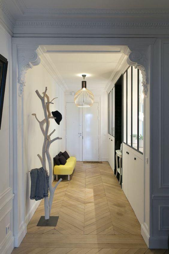 Aménager un long couloir