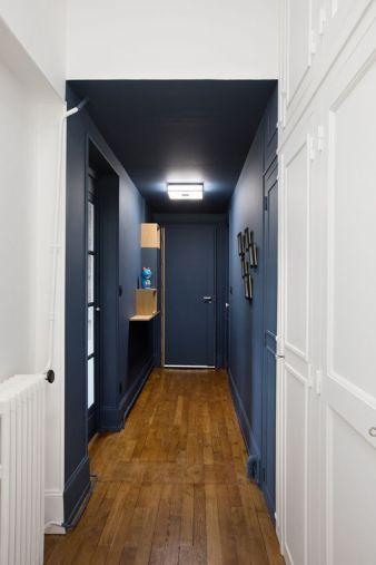 Décorer un long couloir